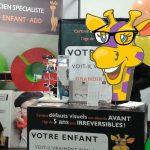 Grandir à Vue d'Oeil Dépistages visuels sur le salon ABC kid'z de Bordeaux 14 et 15 octobre 2017