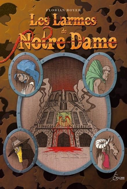 Les larmes de Notre Dame Epilobe éditions au salon ABC Kid'z 2017 de Bordeaux