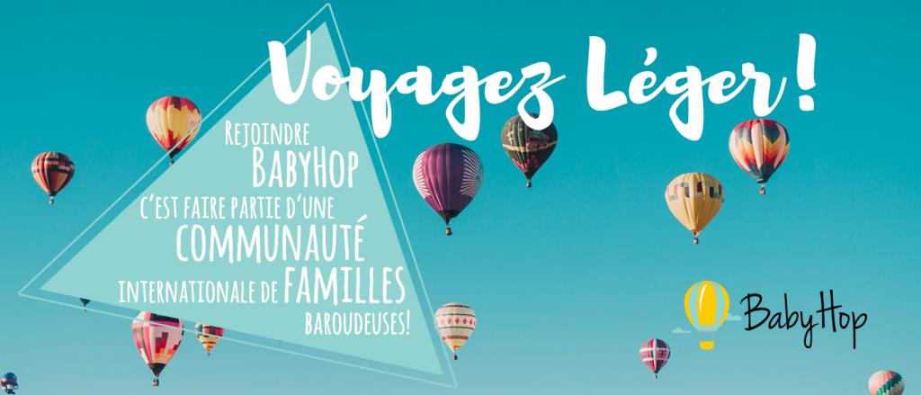 Avec BabyHop voyagez léger, au salon du bébé et de l'enfant de Bordeaux ABC kid'z 13 et 14 octobre 2018