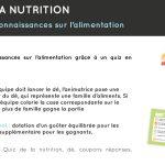 Animation Quiz nutrition alimentation pour petits et grands par KOAM sur le salon du bébé et de l'enfant de Bordeaux 13 et 14 octobre 2018