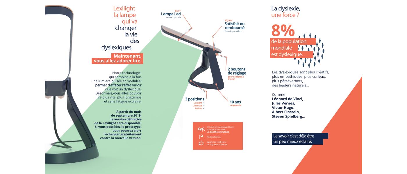 LexiLight dispositif pour aider les dyslexiques, salon du bébé et de l'enfant de Bordeaux ABC kid'z
