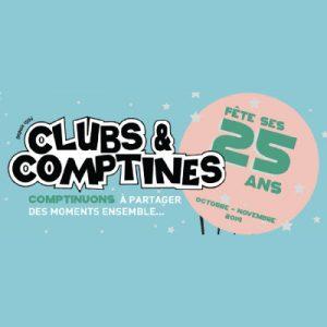 Clubs et Comptines fête ses 25 ans au salon du bébé et de l'enfant de Bordeaux ABC kid'z