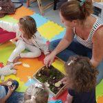 Atelier immersif d'éveil à l'anglais Montessori avec English Insiders sur le salon du bébé et de l'enfant de Bordeaux ABC kid'z