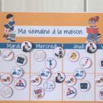 Confinement : organisez-vous avec notre semainier pour enfant à imprimer !